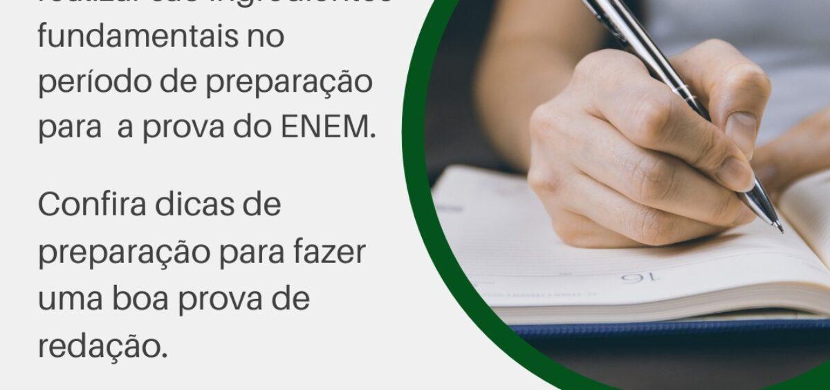 Dicas de redação para ENEM 2020